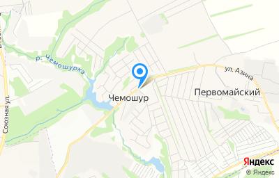 Местоположение на карте пункта техосмотра по адресу Респ Удмуртская, Завьяловский р-н, с Первомайский, ул Полевая, зд 10Б