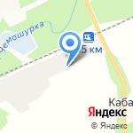 Гранд-сервис на карте Октябрьского