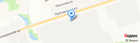 Нефть на карте Ижевска