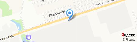 Орион на карте Ижевска