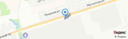 Добротара на карте Ижевска