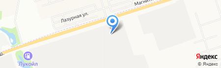 Евродеталь на карте Ижевска