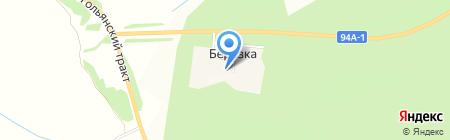 Ижевский шинный завод на карте Березки