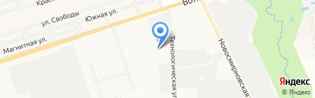 ХозДвор на карте Ижевска