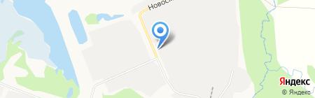 Удмуртнефть-Бурение на карте Ижевска