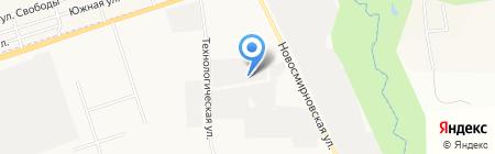 ИжКомСтанко на карте Ижевска