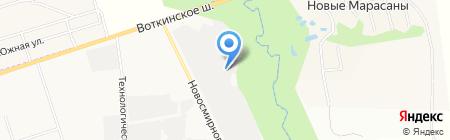 Ден-авто на карте Ижевска