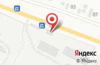 Схема проезда до компании ИжПластМебель в Завьялово