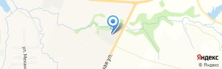 Железебетонный комбинат на карте Ижевска