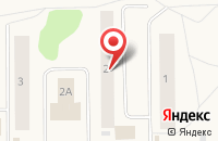 Схема проезда до компании Опора в Ухте