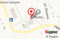 Схема проезда до компании Якшурский в Новых Марасанах