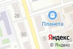 Схема проезда до компании Цветочка в Октябрьском
