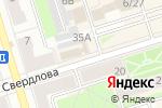 Схема проезда до компании Центр первой юридической помощи в Октябрьском