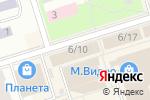 Схема проезда до компании Магазин тканей и постельных принадлежностей в Октябрьском
