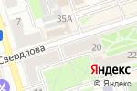 Схема проезда до компании Ombre в Октябрьском