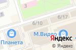 Схема проезда до компании Салон хозтоваров в Октябрьском