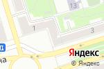 Схема проезда до компании Новый дом в Октябрьском