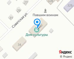 Схема местоположения почтового отделения 423314