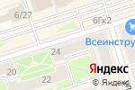 Схема проезда до компании Zolla в Октябрьском