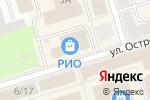Схема проезда до компании Нефтекамская кожгалантерейная фабрика в Октябрьском
