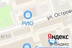 Схема проезда до компании Салон домашнего текстиля, одежды и картин в Октябрьском