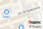 Схема проезда до компании Парус в Октябрьском
