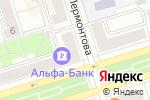 Схема проезда до компании Здоровье в Октябрьском