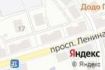 Схема проезда до компании Юпитер-Тур в Октябрьском