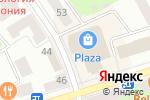 Схема проезда до компании Zarina в Октябрьском