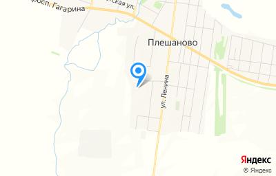 Местоположение на карте пункта техосмотра по адресу Оренбургская обл, с Плешаново, ул Энергетиков, д 3А