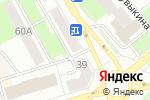 Схема проезда до компании Lux в Октябрьском