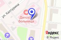 Схема проезда до компании СОЮЗАНТИСЕПТИК в Октябрьском