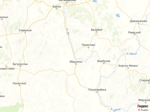 деревня Чулпан на карте