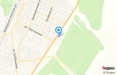 Местоположение на карте пункта техосмотра по адресу Оренбургская обл, г Абдулино, ул Сергея Третьякова, д 49