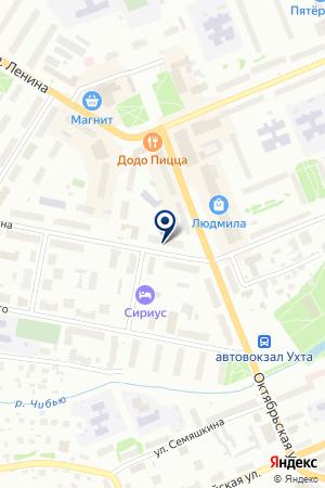 PROF ОФИС на карте Ухты