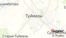 Отели города Туймазы на карте