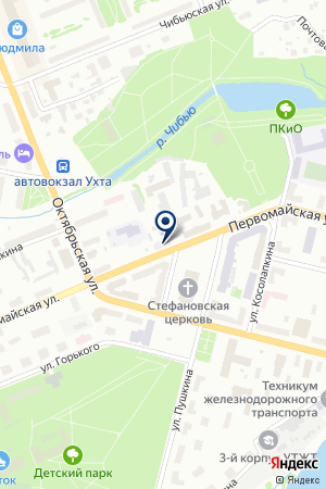 АГЕНТСТВО НЕДВИЖИМОСТИ КАМФОРТ на карте Ухты