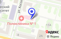 Схема проезда до компании БАГЕТНАЯ МАСТЕРСКАЯ ПАНОРАМА в Ухте