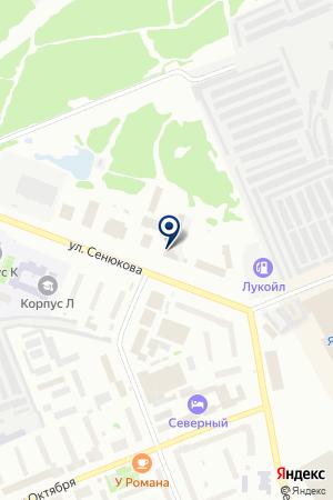 АВТОЦЕНТР КВАТТРО на карте Ухты