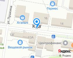 Схема местоположения почтового отделения 427583
