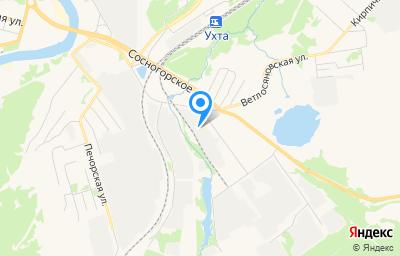 Местоположение на карте пункта техосмотра по адресу Респ Коми, г Ухта, ул Чернова, д 6