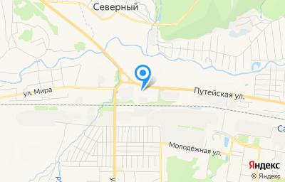 Местоположение на карте пункта техосмотра по адресу Респ Удмуртская, г Сарапул, ул Путейская, д 62К
