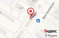 Схема проезда до компании Техническая Диагностика в Сосногорске