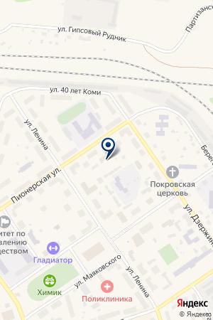 АГЕНТСТВО НЕДВИЖИМОСТИ СТАБИЛЬНОСТЬ на карте Сосногорска