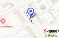 Схема проезда до компании ПТК КАРАТ в Сосногорске