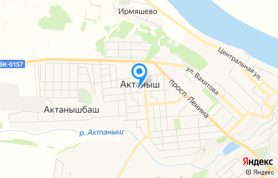Местоположение на карте пункта техосмотра по адресу Респ Татарстан, с Актаныш
