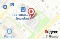 Схема проезда до компании Белебеевские Известия в Белебее