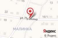 Схема проезда до компании 1212 в Аксаково