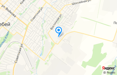 Местоположение на карте пункта техосмотра по адресу Респ Башкортостан, г Белебей, ул Восточная, д 4