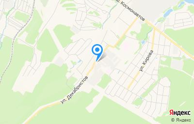 Местоположение на карте пункта техосмотра по адресу Пермский край, г Чайковский, ул Декабристов, д 23